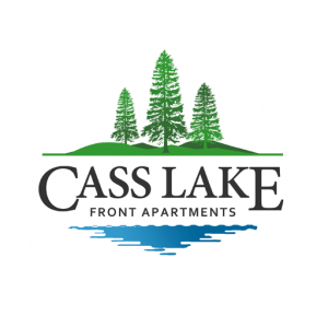 Cass Lake Front Apartments Website Logo 2019